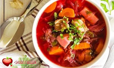 A sopa é um tipo de refeição super saudável
