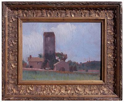 Giovanni Colmo - veduta agreste - arte - dipinti - annunci