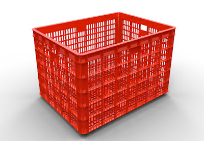 Thùng nhựa, sóng nhựa, hộp nhựa công nghiệp có bánh xe