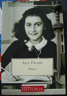 Portada del libro Diario, de Ana Frank
