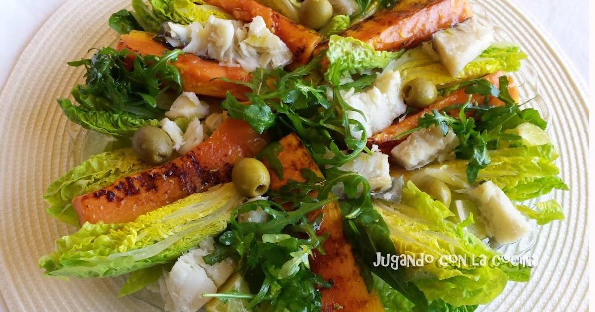 Jugando con la cocina 8 ensaladas originales y sanas for Ideas ensaladas originales