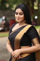 Poorna in Cute Backless Choli Saree Stunning Beauty at Avantika Movie platinum Disc Function ~  Exclusive 080.JPG