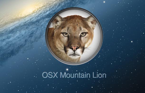 تحميل نظام الماك OS X Mountain Lion برابط مباشر