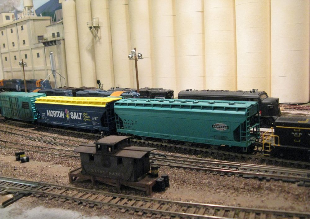 The Kings Port Division HO Scale Model Railroad : P C C M