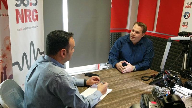 Ο Σταύρος Βαβίας υποψήφιος στις περιφερειακές εκλογές με τον Χριστόδουλο Τοψίδη