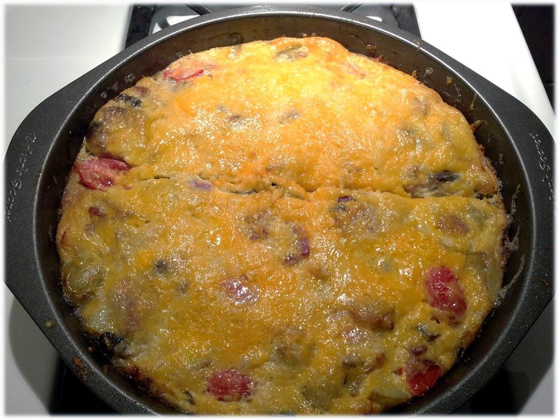 British Breakfast Frittata