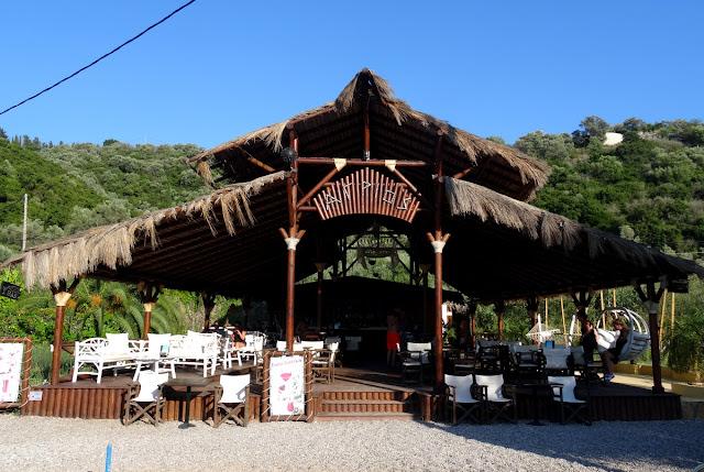 Agrios Beach Bar Spilia Beach Meganisi