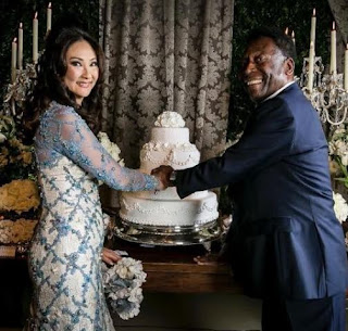 Footballer legend Pele marries for the 3rd time