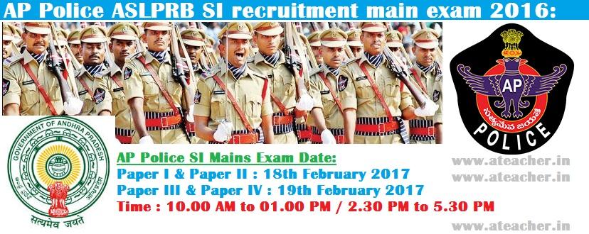 APSLPRB-Police-SI-SI-HallTickets-Admit-Cards-2017-Written-Exam-Date-wwwrecruitmentappolicegovin