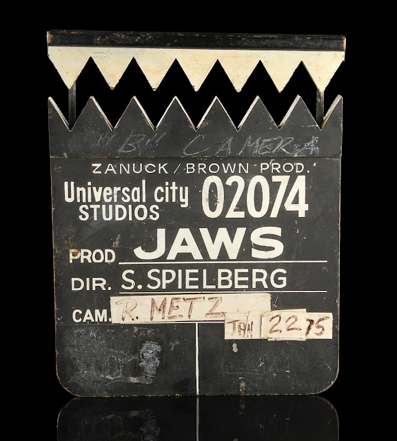 spielberg's clapperboard