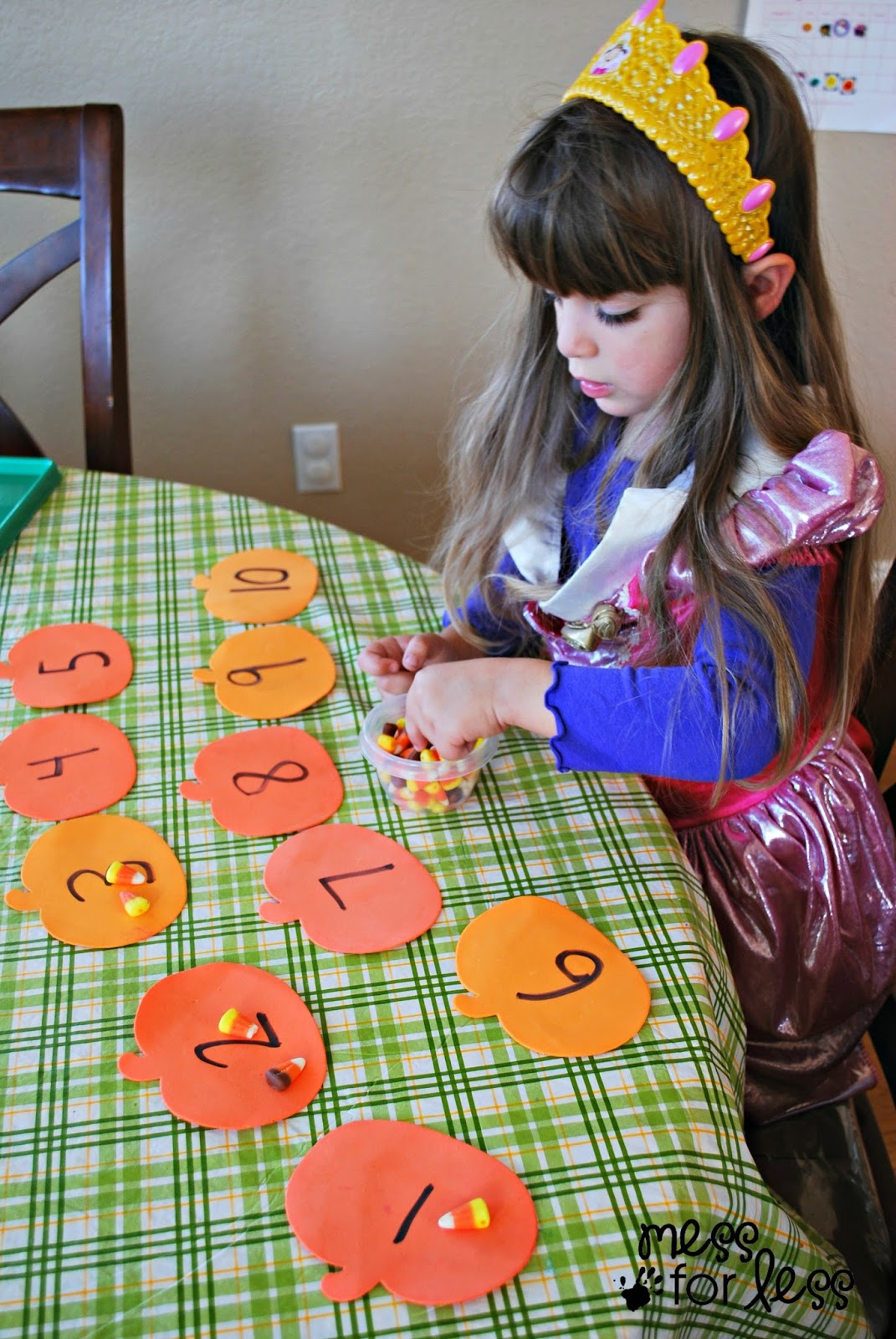 Halloween Activites Candy Corn Counting