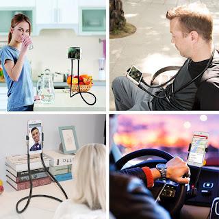 supporto da tavolo collo per cellulare
