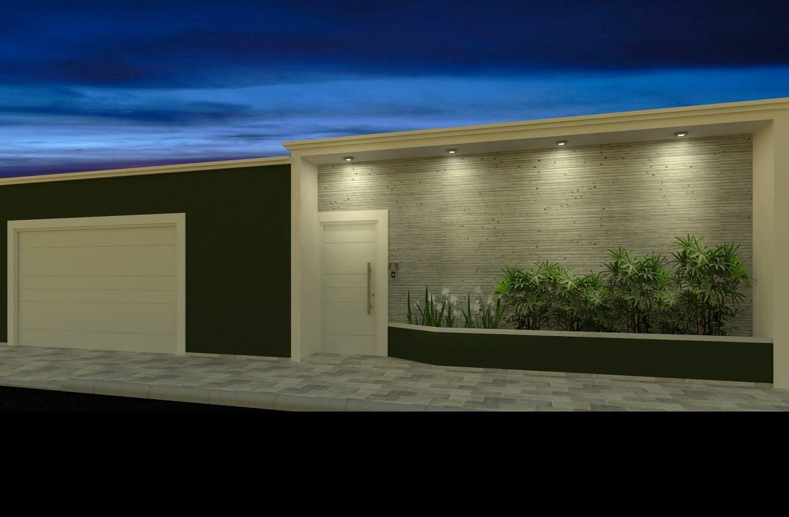 Construindo Minha Casa Clean Fachadas Muros Grades E
