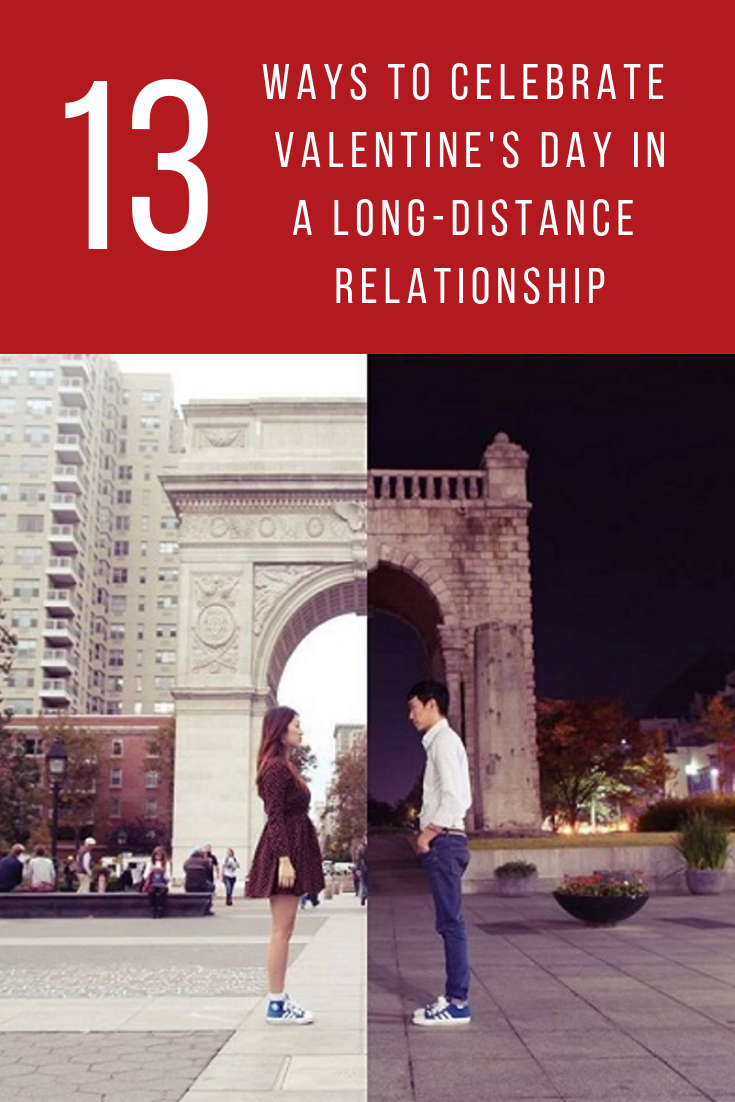 13 Ways to Celebrate Valentine's Day in a Long-Distance