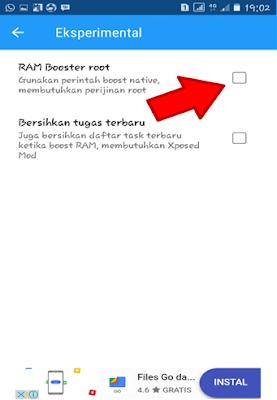 RAM Boost Root
