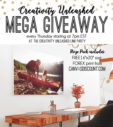 CanvasDiscount Giveaway and Creativity Unleashed #159 | My Love 2 Create