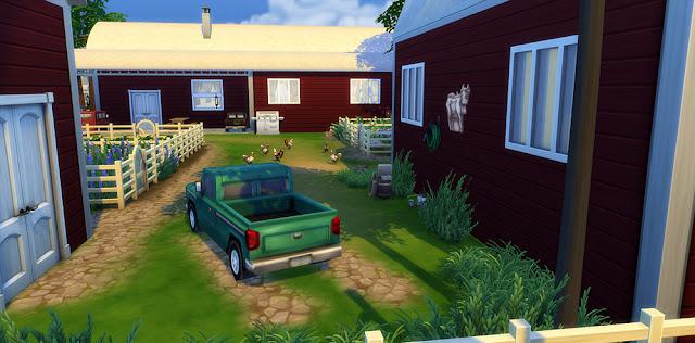 Animal Farmhouse Sims 4 Houses