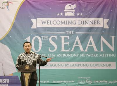 Gubernur Ridho: Teropong Bintang Lampung Terbaik di Asia