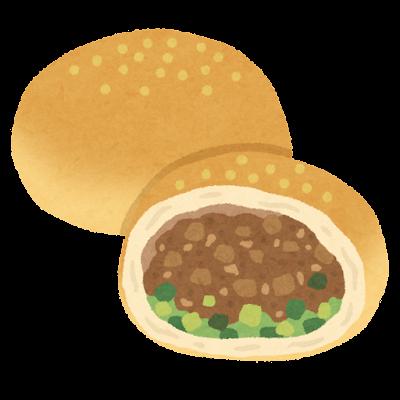 胡椒餅のイラスト