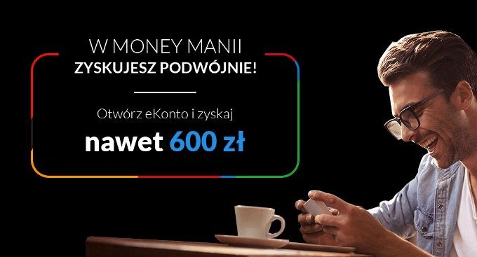 Money Mania 8: Nawet 600 zł do eKonta w mBank