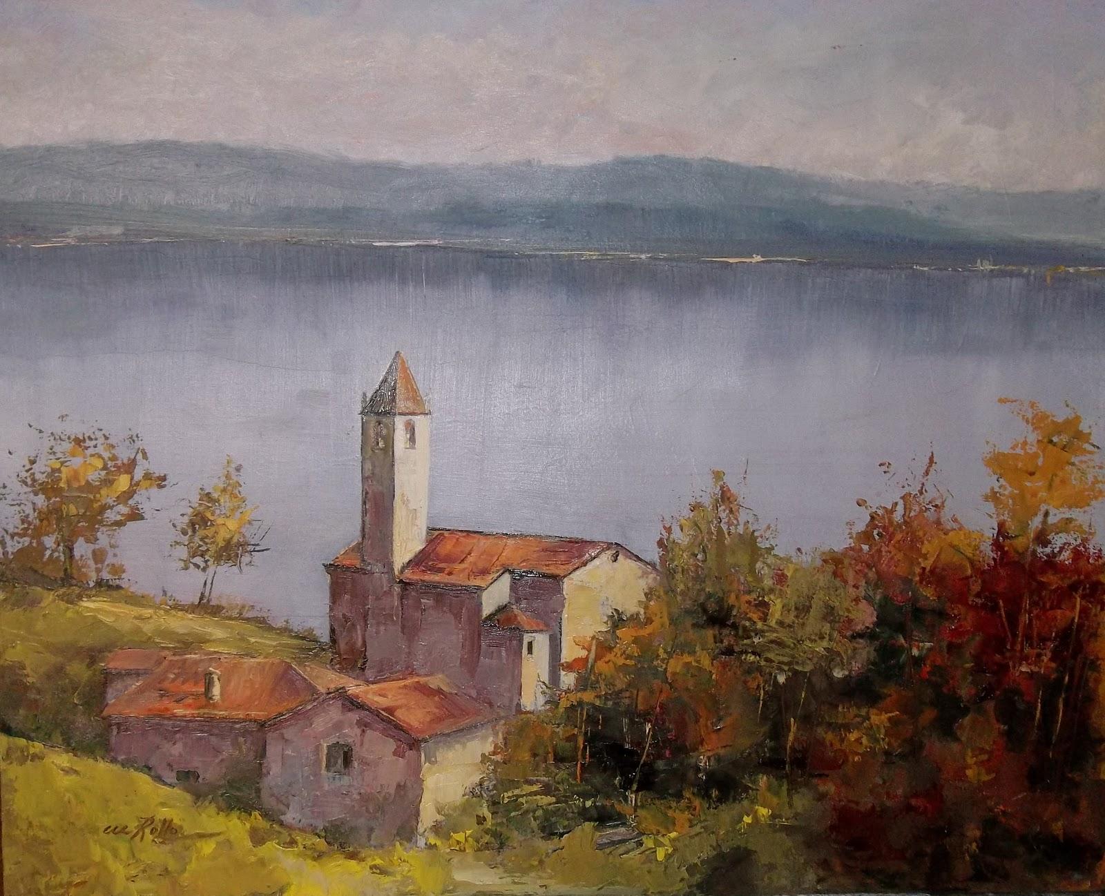 Paesaggi Toscani Dipinti Ad Olio | Stagioni Labroniche Dipinti Di ...