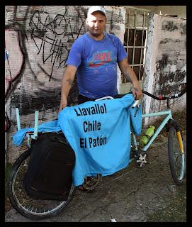 "Entrevista al ""Patón"" Morillo, el hombre que intentó unir Lavallol con Viña del Mar en bicicleta"