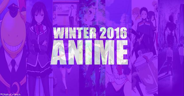 Informasi Anime Terbaru Winter Season 2016