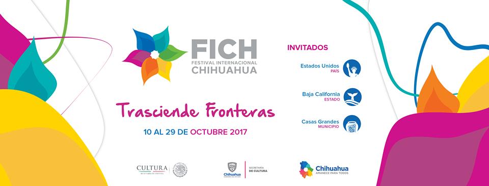 Cartel Festival Internacional Chihuahua 2017