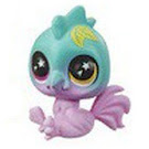 Littlest Pet Shop Series 5 Lucky Pets Glow-in-the-Dark Eyes Frost (#No#) Pet