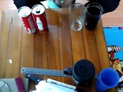 Belajar Membuat Kompor Unik dari Bekas Kaleng Minuman Soda