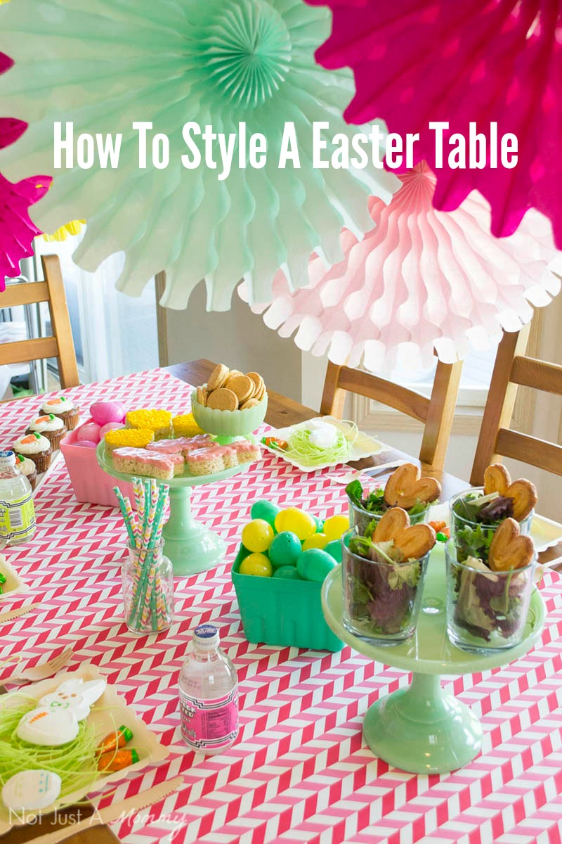 How To Style A Easter Table