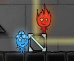 Agua y Fuego en el templo de Cristal