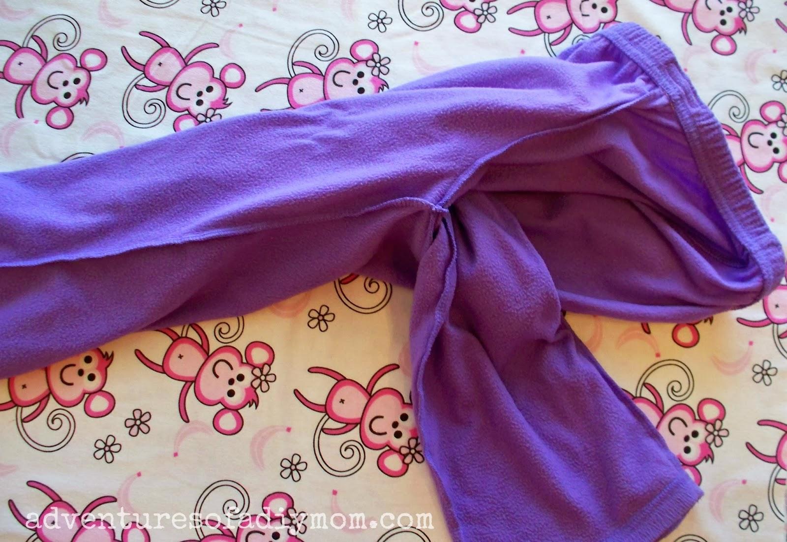How to Make Kids Flannel Pajama Pants
