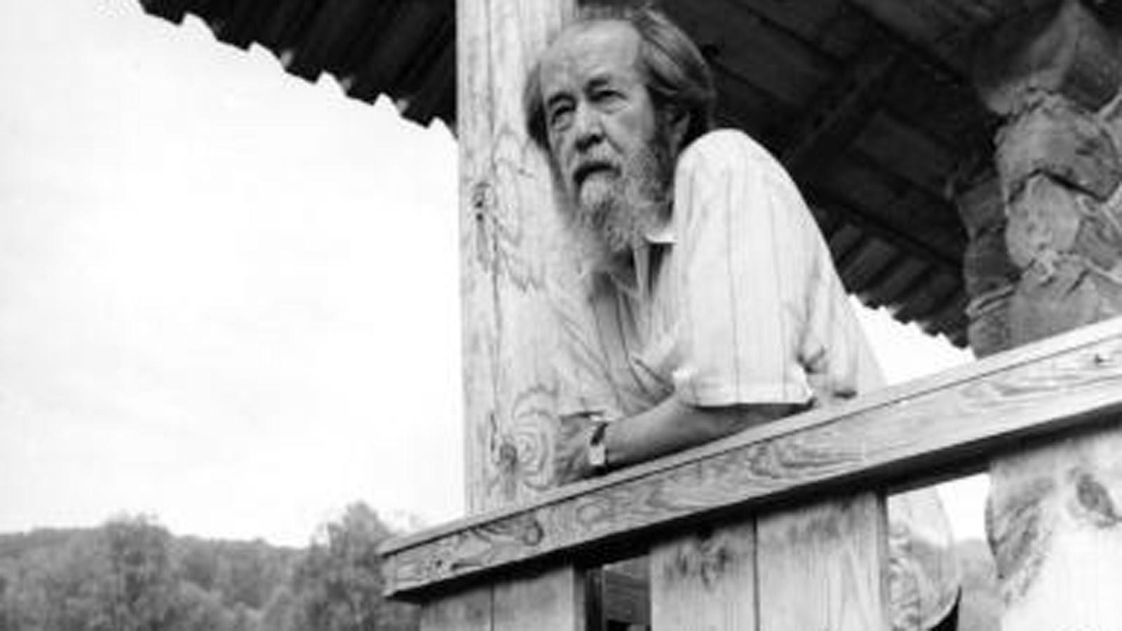 Slikovni rezultat za Solzhenitsyn o stanju Zapadne kulture
