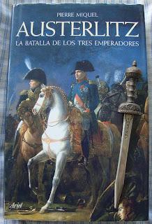 Portada del libro Austerlitz, de Pierre Miguel