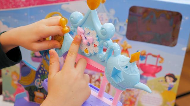 castello giocattolo delle Principesse Disney