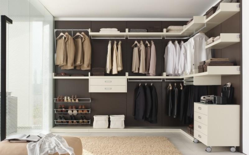La casa del benessere ordine in casa spazio e tempo per for Esempi di cabine armadio