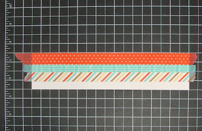 Stampin' Up! Retro Fresh Washi Tape | Stampingville #papercrafts #cardmaking #StampinUp