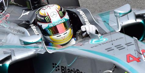 Lewis Hamilton Menangi F1 GP Italia
