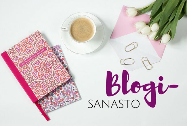 Blogisanastoa