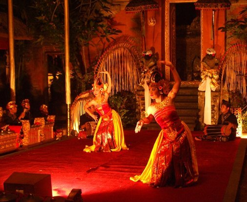 Balinese trip the low-cal fantastic is role of an ancient trip the low-cal fantastic tradition comprise eyes BaliBeaches: Cendrawasih Dance Bali