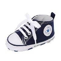 db3a25666 Zapatos para bebé Auxma La Zapatilla de Deporte Antideslizante del Zapato  de Lona de la Zapatilla de Deporte para 3-6 6-12 12-18 M