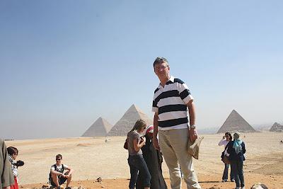 Fotografía de José Miguel Grande en su viaje por Egipto