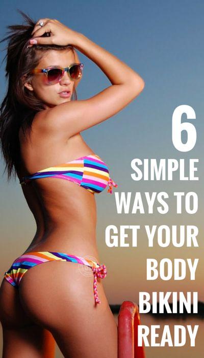 6 Effective Ways To Get Bikiny Ready