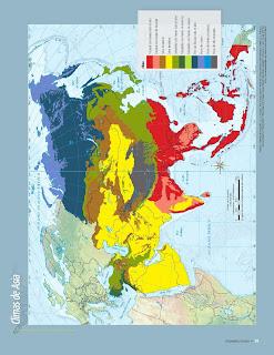 Apoyo Primaria Atlas de Geografía del Mundo 5to. Grado Capítulo 2 Lección 3 Climas de Asia