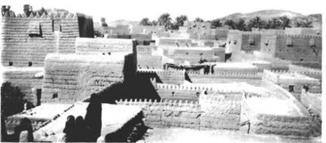 المنازل في حائل 1914م