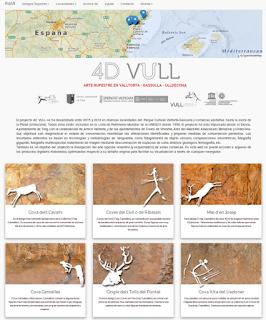 La web 4D VULL acerca el arte rupestre de la Valltorta a la sociedad a través de Internet con fotografías megapíxel e información de los abrigos