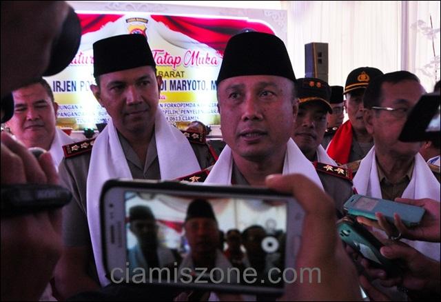 """Kapolda, """"Pilpres 2019 Harus Damai dan Kondusif"""""""