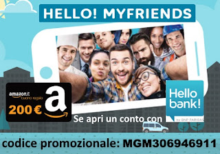Hello! MyFriends di Hello Bank! Promo Presenta un Amico 2017