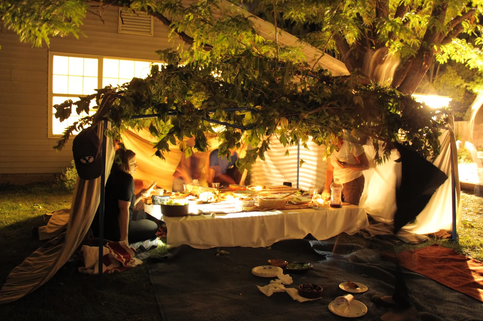 Cleaning up the dinner table & Redeemer of Israel: Feast of Tabernacles (Sukkot) 2013